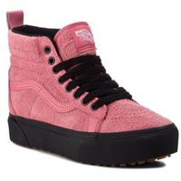 Sneakersy VANS - SK8-Hi Platform M VN0A3TKOUCE (Mte) Desert Rose/Black, kolor różowy