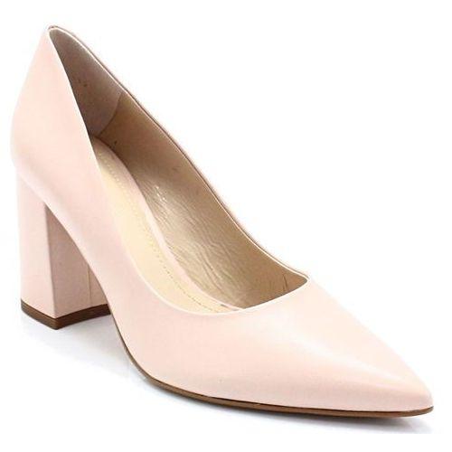 75403 różowe - klasyczne na słupku - różowy marki Solo femme