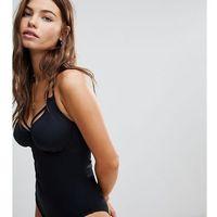 beach bound underwired triangle halter swimsuit - black, Pour moi, XXS-M