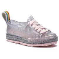 Półbuty - be rainbow ad 32637 glass holographic pink 53385 marki Melissa