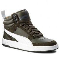 Sneakersy PUMA - Rebound Street V2 363715 09 Forest Night/White/Iron Gate, kolor zielony