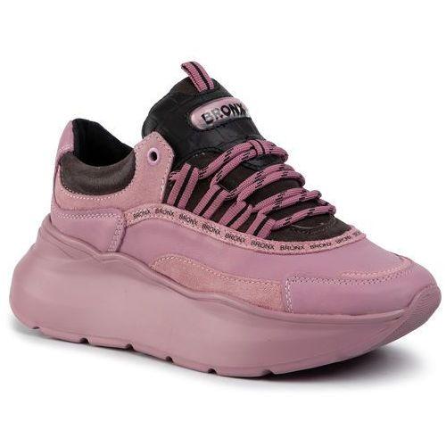 Sneakersy - 66265-ac 3263 plum/d.grey/black marki Bronx