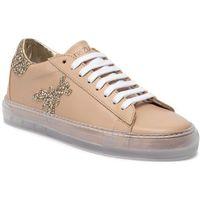 Sneakersy - 2v8807/a2gx-j2fo beige/transparent, Patrizia pepe, 36-40