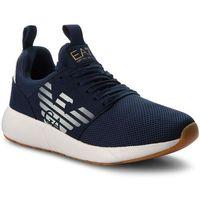 Sneakersy EA7 EMPORIO ARMANI - Sneaker Fusion Racer U X8X023 XCC05 00285 Navy