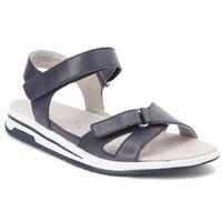 Sandały CAPRICE - 9-28610-20 Ocean Nappa 855, kolor niebieski