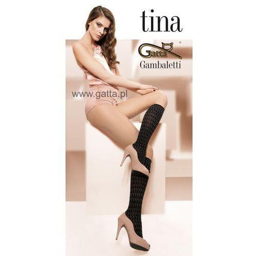 TINA - Podkolanówki wzorzyste 3D