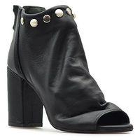Sandały Venezia 149 VIT NERO Czarne lico