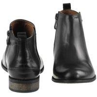Botki Nessi 58704 - Czarne 14, kolor czarny