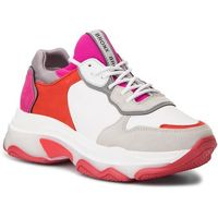 Sneakersy BRONX - 66167A-A BX1525 Off White/Red/Fuchsia 2356, kolor wielokolorowy