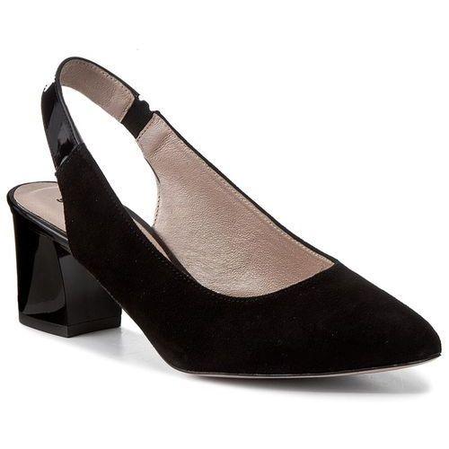 Sandały GINO ROSSI - Cornelia DCH301-P83-4906-9999-0 99/99, kolor czarny
