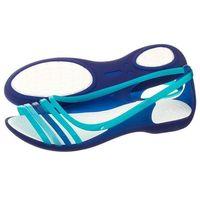 Crocs Sandały isabella huarache flat w cerulean blue 202463-4o7 (cr99-f)
