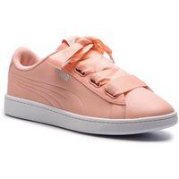 Puma Sneakersy - vikky v2 ribbon core 369114 04 pech bud/puma silver/white