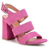Sandały R.POLAŃSKI - 1103 Magnolia Zamsz, kolor różowy