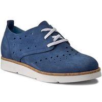 Półbuty NESSI - 17144 Niebieski 914, kolor niebieski