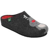 Kapcie Dr BRINKMANN 320540-9 Antracyt Pantofle domowe Ciapy zdrowotne - Antracytowy ||Grafitowy, kolor szary