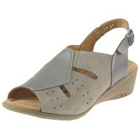 Sandały Axel 2310 Beżowe(Wosk+Perła 5)