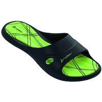Klapki rider slide feet vii 82214-20534 czarny/zielony 41-42, Rider-ipanema
