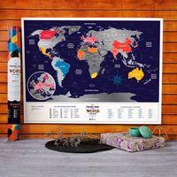 Mapa zdrapka travel map™ holiday world - mapa zdrapka travel map™ holiday world marki Mygiftdna
