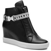 Sneakersy - caddie k1933879 black, Dkny