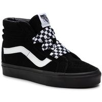 Sneakersy VANS - Sk8-Hi Alt Lace VN0A3TKLVL51M Black/Black, kolor czarny