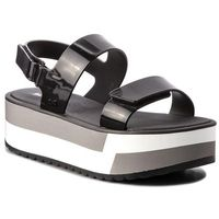 Sandały - slash plat sandal fem 17525 black 90058 aa285086 02064, Zaxy, 37-41.5