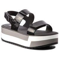 Sandały - slash plat sandal fem 17525 black 90058 aa285086 02064, Zaxy, 39-41.5