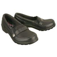 SKECHERS 49035/BLK black, półbuty damskie, kolor czarny