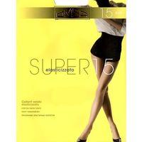 Rajstopy Omsa Super 15 den 2-S, beżowy/sabbia, Omsa, 8308583218136