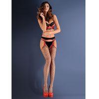Rajstopy erotica strip panty 153 637 1/2-xs/s, czarny/nero, gabriella, Gabriella
