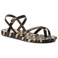 Japonki IPANEMA - Fashion Sand. V Fem 82291 Black/Gold Black 21112, w 5 rozmiarach
