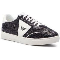 Sneakersy EMPORIO ARMANI - X3X083 XL841 D850 Black/White/Black, w 6 rozmiarach