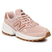 Sneakersy - ws574ada różowy, New balance, 36-41.5