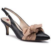 Sandały HÖGL - 7-106240 Black/Nude 0118, w 7 rozmiarach