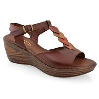 Sandały 34c953 c. brązowy marki Lanqier