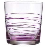 - szklanka 0,38 l spirale - fioletowa marki Leonardo