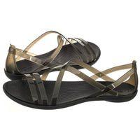 Sandały isabella strappy sandal w black 204915-001 (cr149-b) marki Crocs