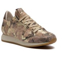 Sneakersy - monaco mnld cm02 camouflage metal beige or, Philippe model, 36-41