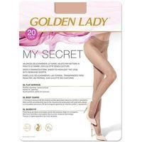 Rajstopy Golden Lady My Secret 20 den daino/odc.beżowego - daino/odc.beżowego