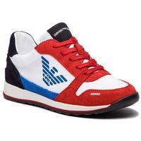 Sneakersy - xyx003 xoc01 b0183 red/wht/red/blt/navy marki Emporio armani
