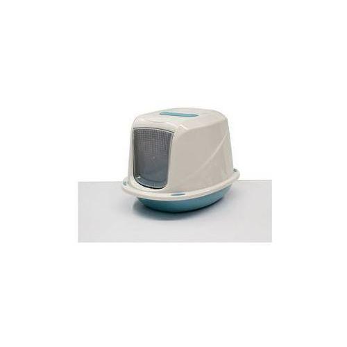 Toaleta z filtrem i uchwytem - 45 x 36 x 31,5 cm niebieska marki Argi