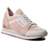 Sneakersy MICHAEL KORS - Billie Knit Trainer 43T8BIFS1D Soft Pink, kolor różowy