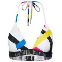 Calvin klein swimwear góra bikini 'fixed triangle rp stripe' mieszane kolory
