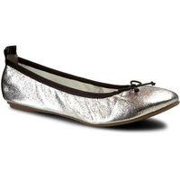 Baleriny TAMARIS - 1-22113-28 Silver Struct. 927, w 3 rozmiarach