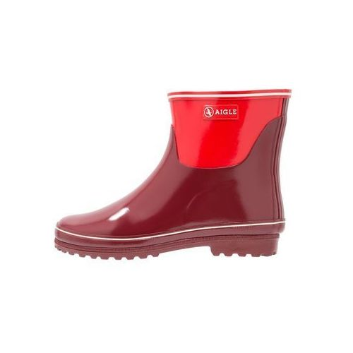Aigle VENISE BOTTILION COLOR BLOCK Kalosze bordeaux/chillinew