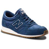 New balance Sneakersy - wl420npn granatowy