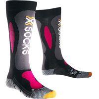 X-socks Skarpety damskie ski carving silver lady