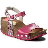 Sandały DESIGUAL - Shoes Atenea 18SSHP58 Flowers Patch 3132