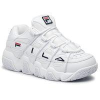 Sneakersy FILA - Uproot Wmn 5BM00539.125 White/Fila Navy/Fila Red, kolor biały