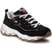 Skechers Sneakersy - rose blooms 13084/bkw black/white