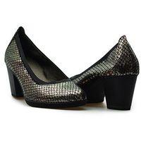 Pantofle 1-22436-27 949 platinum stru. platynowe, Tamaris